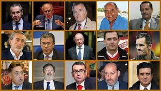 corrupción, corruptos, corrupción en España, dinero