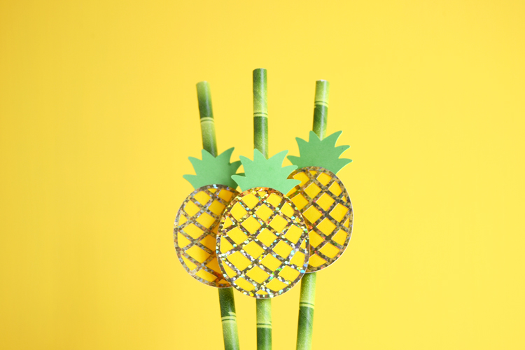 pineapple drink straws final