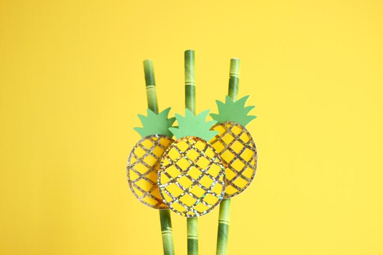 pineapple drink straws final