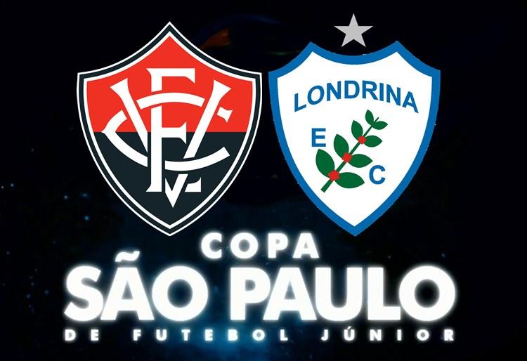 Assista Londrina x Vitória pela Copa São Paulo de Futebol Junior ao vivo HD 1