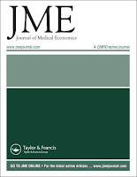 Image of Journal of Medical Economics journal front cover