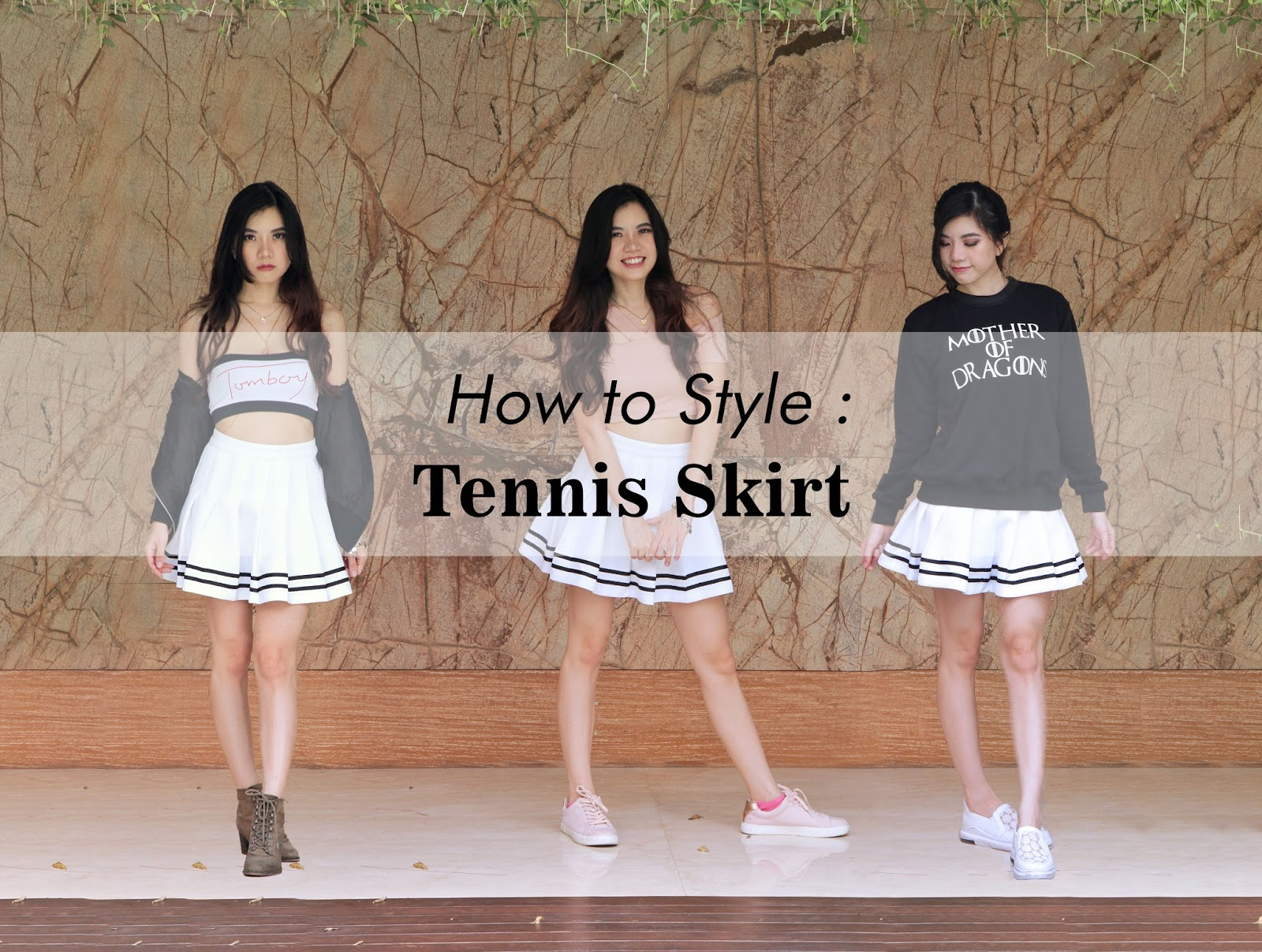 dc30ddf776 How to Style A Pleated Mini Skirt in 3 Different Ways (Outfit Ideas ...