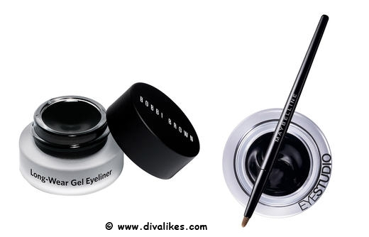 Bobbi Brown Long-Wear Gel Eyeliner Black Ink Drugstore Dupe