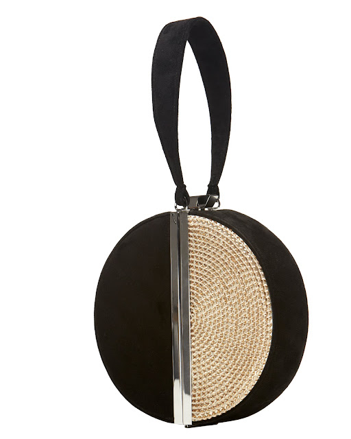 DVF Diane von Furstenberg Limited Edition Circle Fetish Box Clutch