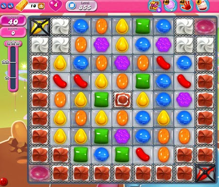 Candy Crush Saga 855