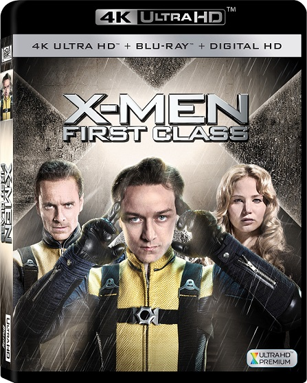 X-Men: Firts Class 4K (X-Men: Primera Generación 4K) (2011) 2160p 4K UltraHD HDR BluRay REMUX 37GB mkv Dual Audio DTS-HD 5.1 ch