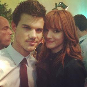 Twilightsagafanblog Taylor Lautner And Bella Thorne