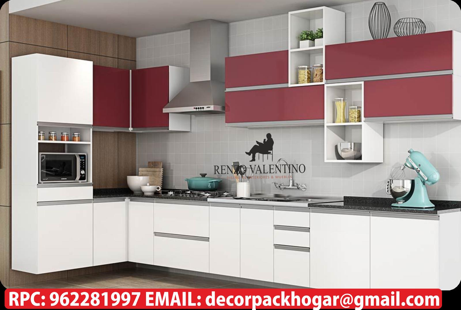 Dise os fabricacion de closet cocina y muebles de oficina for Muebles de cocina italianos