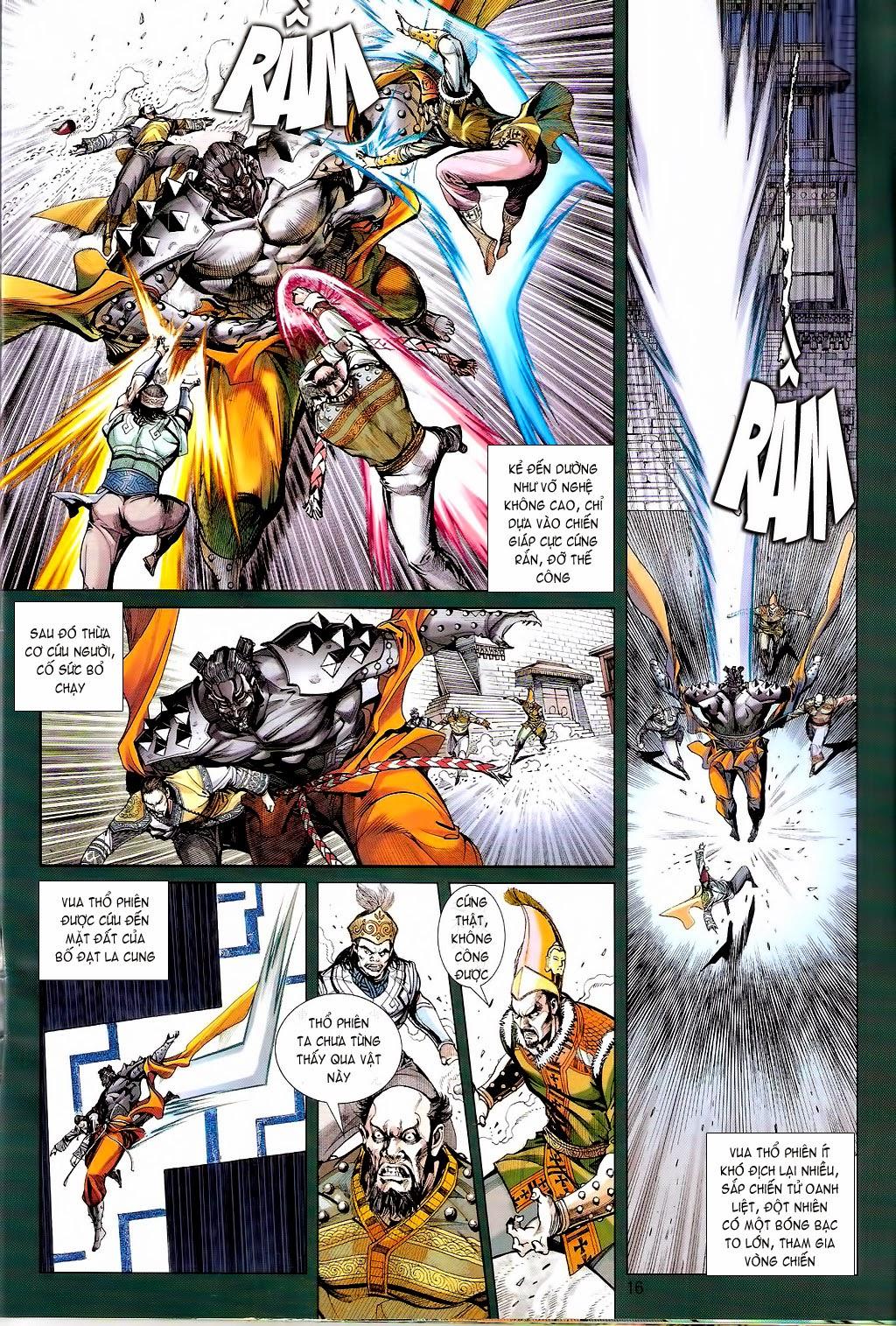 truyện tranh thiết tướng tung hoành Chapter 70/