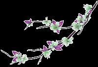 Ramo de Flor lilás png