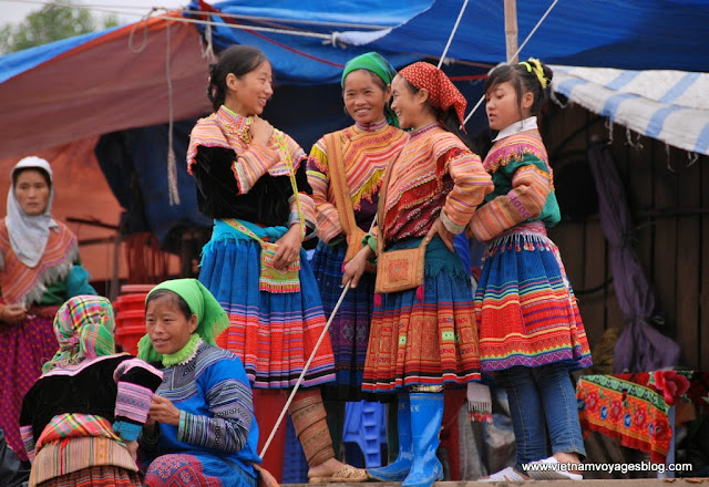 Sunday colorful at Bac Ha Minority Market