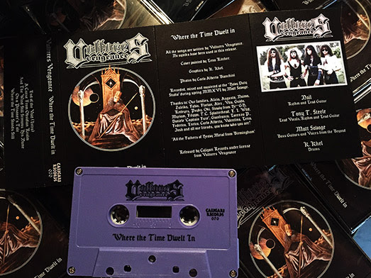 VULTURES VENGEANCE - Where the Time Dwelt In - Out Now On Tape