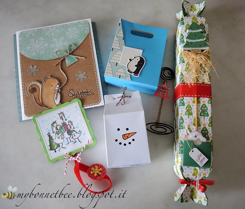 ce29f29615f7 Il bello di avere delle amiche creative è che a Natale ho il privilegio di  ricevere delle bellissime confezioni