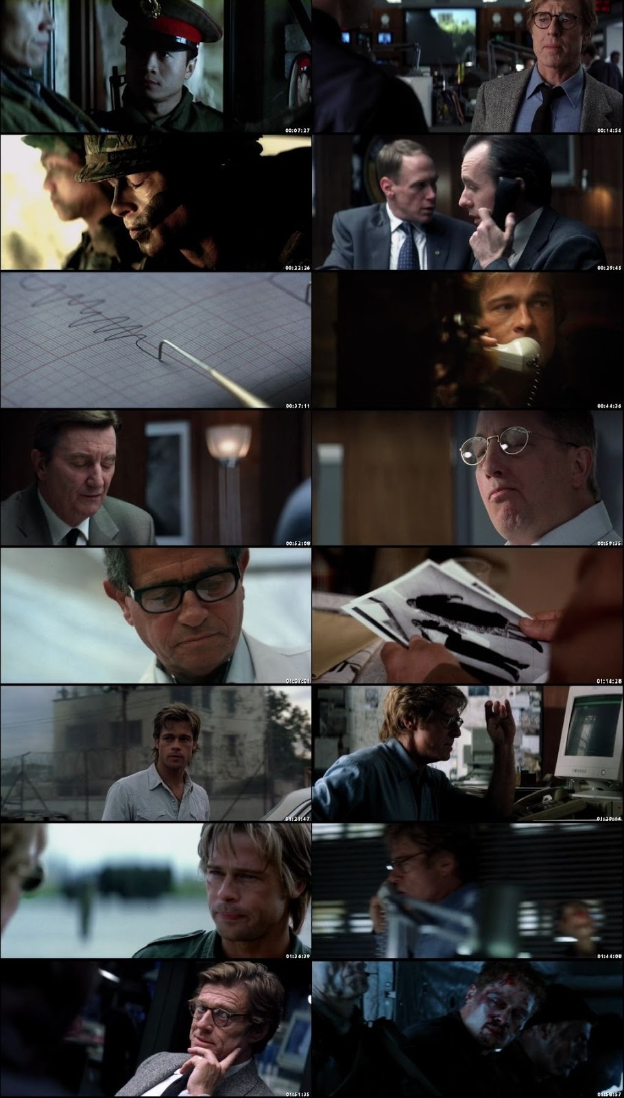 Screen Shot Of Spy Game 2001 300MB Full Movie Hindi Dubbed Free Download 720P BRRip HEVC
