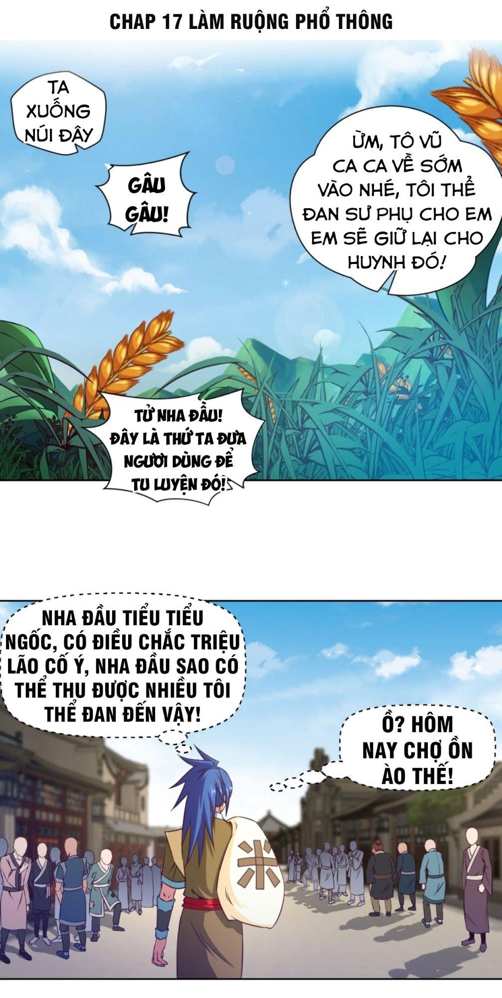 Chiếm Cái Đỉnh Núi Làm Đại Vương chap 17 - Trang 1