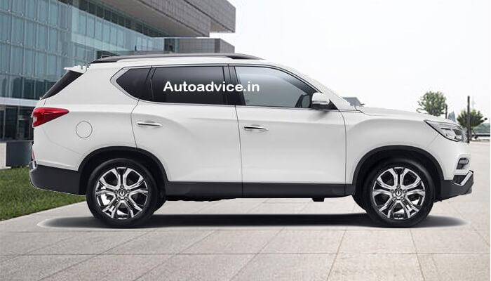 Mahindra SUV Alturas G4 view