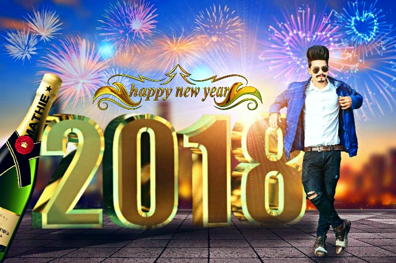 New Happy New Year Picsart Editing 2018 Happy New Year Editing In