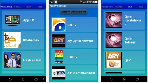 Top 10 Android Apps To Watch Pakistani And Indian TV Channels