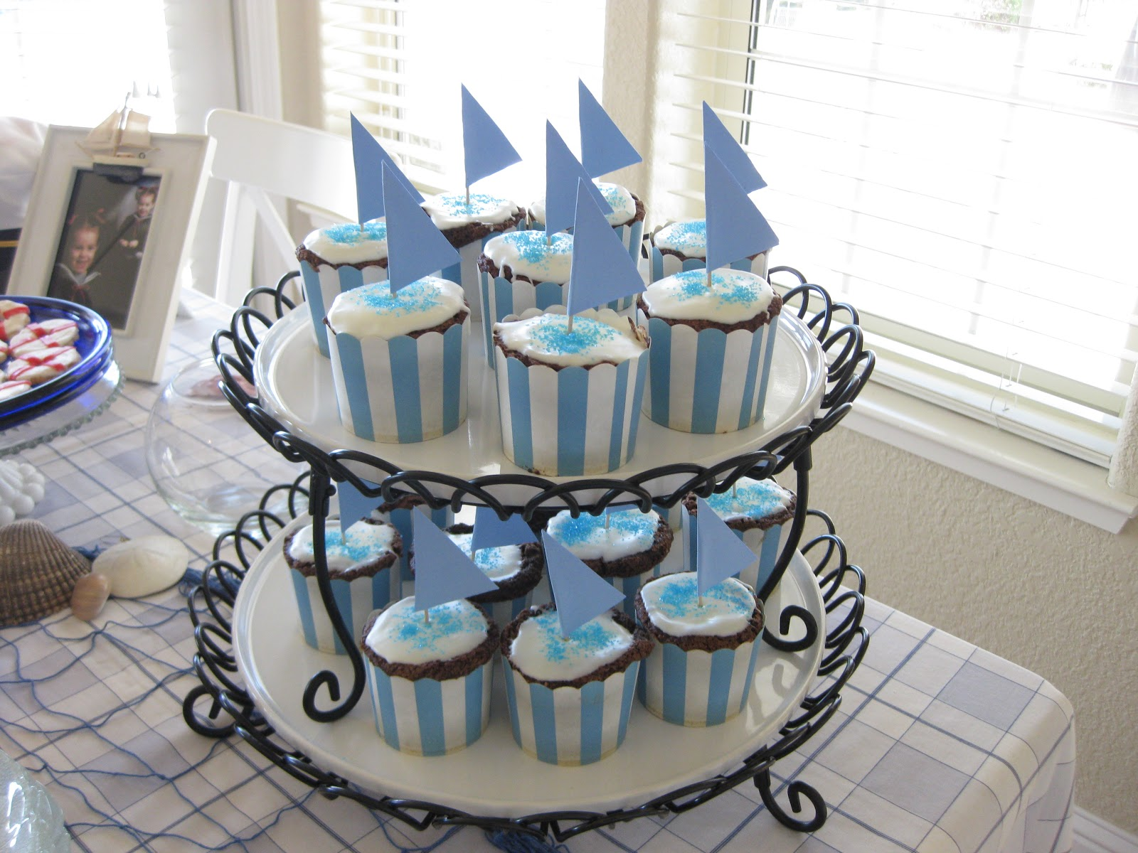 In Search Of The Finer Things: Nautical Baby Shower: My