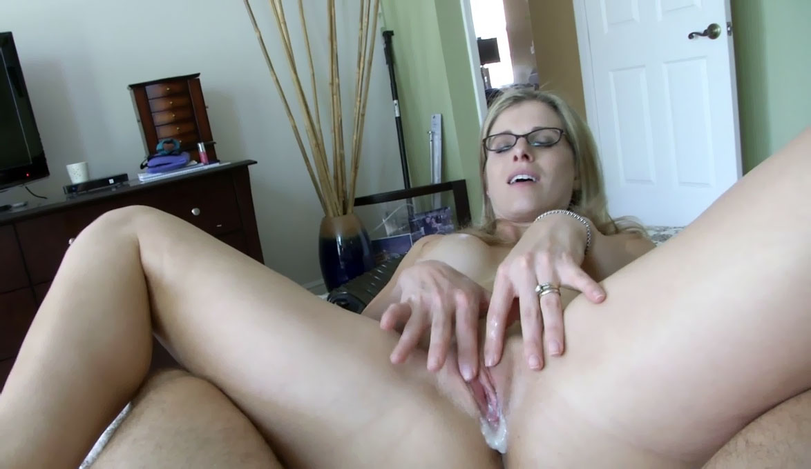Daughter naked spread eagle