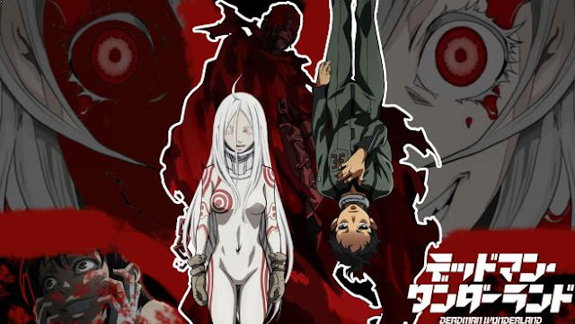 Deadman Wonderland - Daftar Anime Gore Terbaik