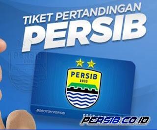 Semua Tiket Pertandingan Kandang Persib Dijual Online
