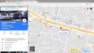 googlemaps SMESCO Convention Hall