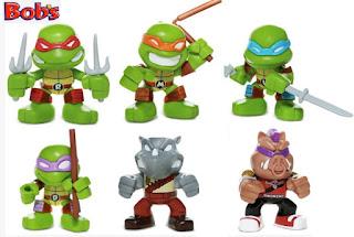 Promoção Bob's 2017 Toy Arts Tartarugas Ninja