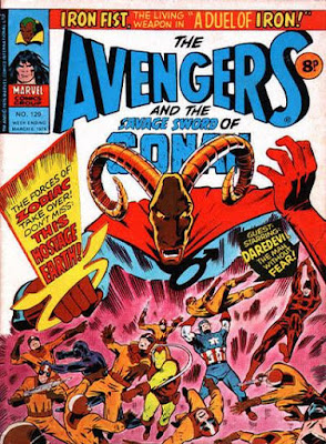 Marvel UK, Avengers #129, Zodiac