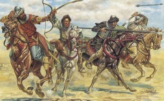 turkic horseman 13-15 century