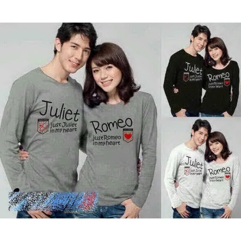 Jual Couple Lengan Panjang LP Juliet Romeo - 22138