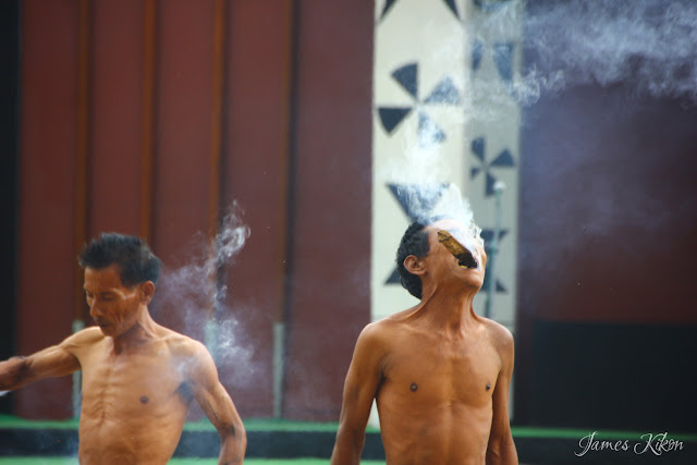 Konyak Fire Eaters Demonstrates Their Fire Eating Skills 3