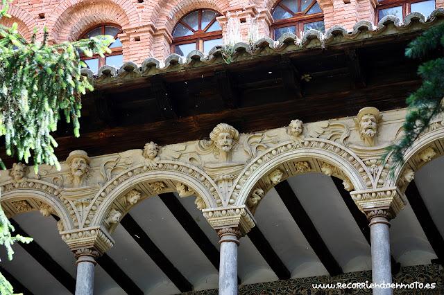 Planta superior claustro m. Veruela