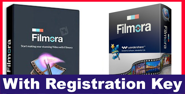 Wondershare filmora Video Editor With Registration Key Free Download
