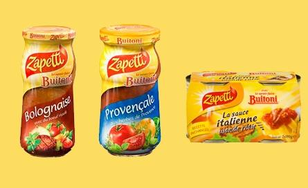 Buitoni - Zapetti - Changement - Sauces - Ravioli - Conserve - Bolognaise - Buitoni devient Zapetti