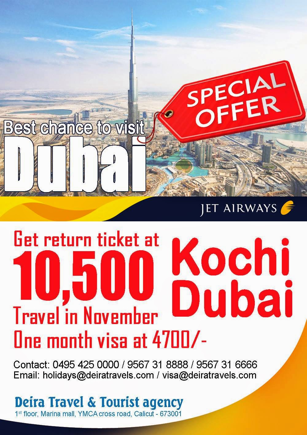 Air Ticket Travel Agency In Cochin