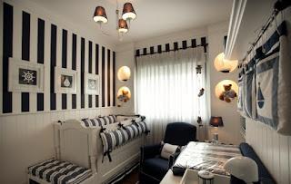 Dormitorio bebé marinero