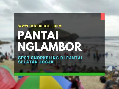 Pantai Nglambor Menikmati Spot Snorkeling Pantai Selatan Jogja