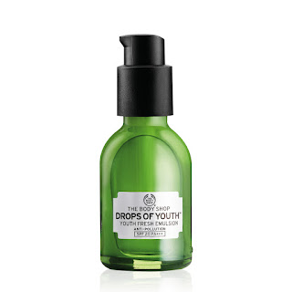 THE BODY SHOP DROPS OF YOUTH RANGE