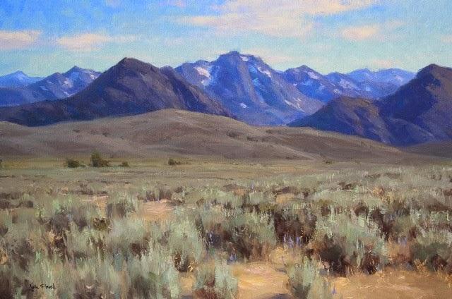 Калифорнийский импрессионизм. Jesse Powell