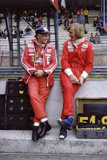 Niki Lauda-James Hunt