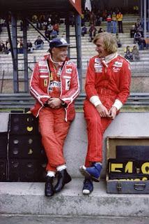 Niki Lauda-James Hunt