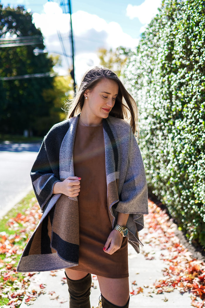 Krista Robertson, Covering the Bases, Travel Blog, NYC Blog, New York & Company, Preppy Blog, Fashion Blog, Travel, Fashion Blogger, Preppy Style, What to wear-to-work, Work outfits, How to Dress for Work, Fall Outfits, Fall Style, Stuart Weitzman Knee High Suede Boots