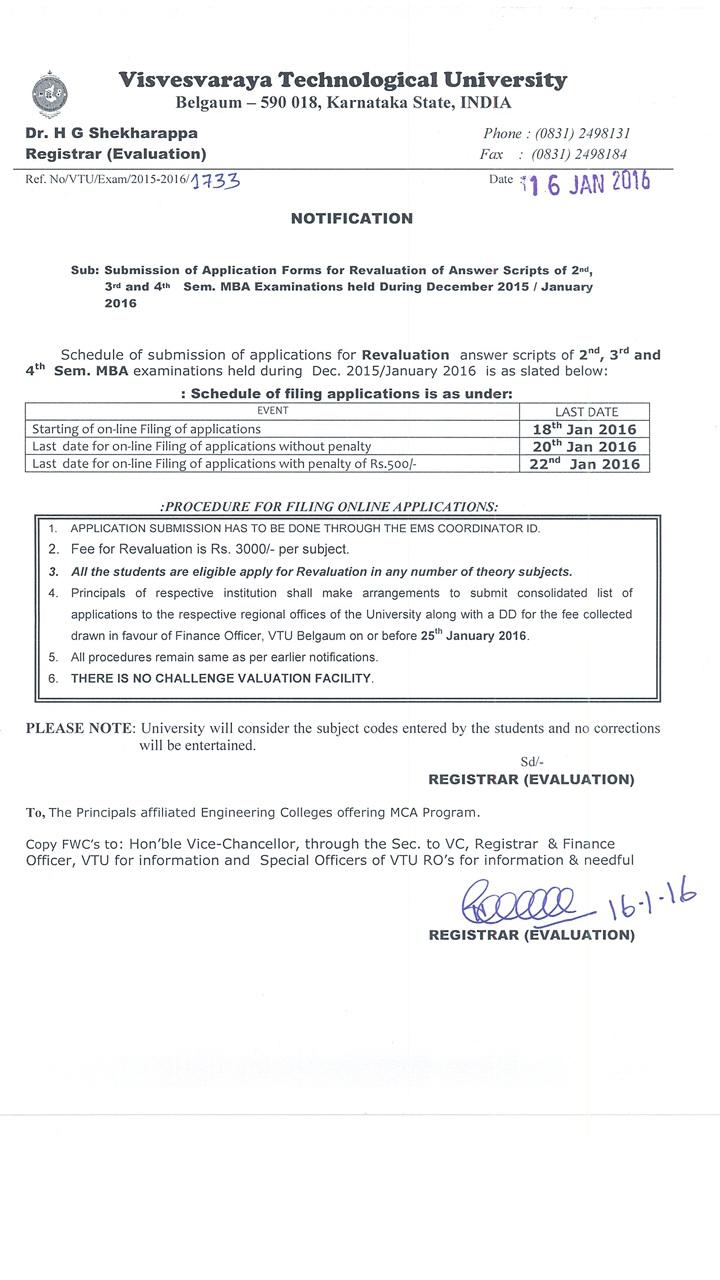 vtu applications