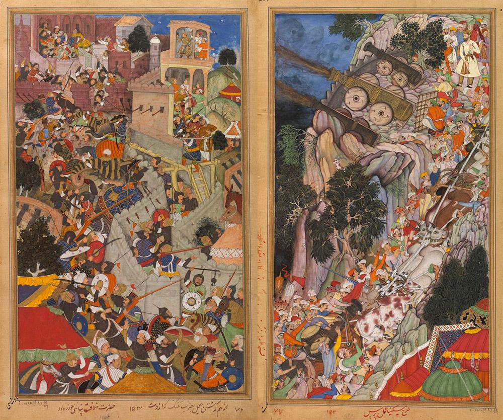 emperor akbar's military campaigns