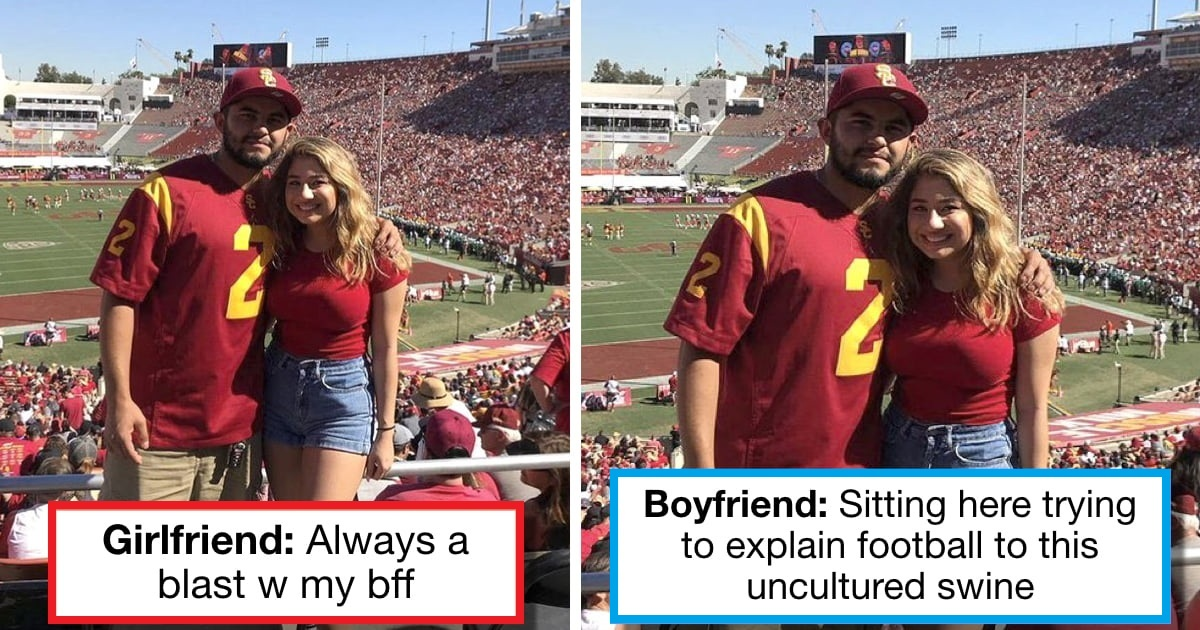 9 Couples Shared The Same Photo Twice With Different Captions On Instagram, And We Couldn't Stop Laughing