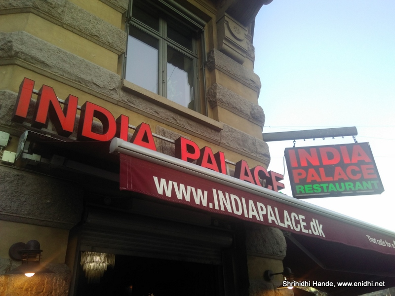 Indian Palace Restaurant In Copenhagen
