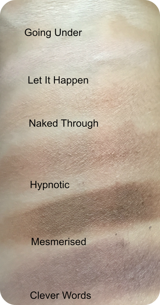 makeup revolution girl panic matte swatches