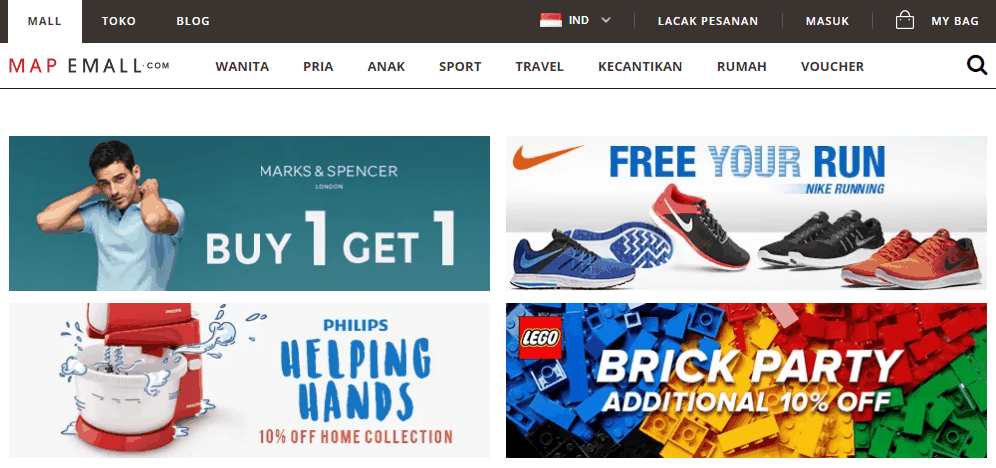 Belanja Produk Fashion Branded Di Mapemall Online Shop