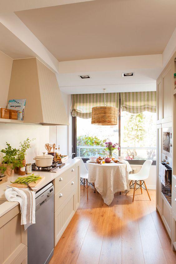 Textiles para decorar la cocina de tu hogar